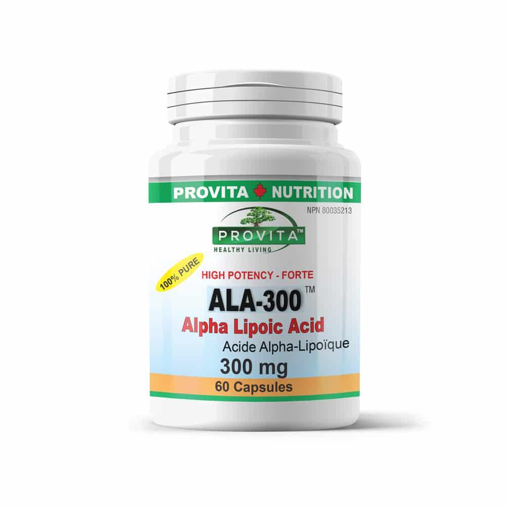 ALA-300 - Alpha Lipoic Acid