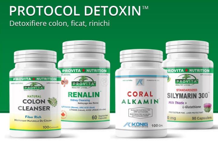 Protocol Detoxin de 30 zile