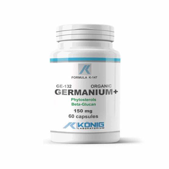 Organic germanium 132 cu fitosteroli și beta-glucan