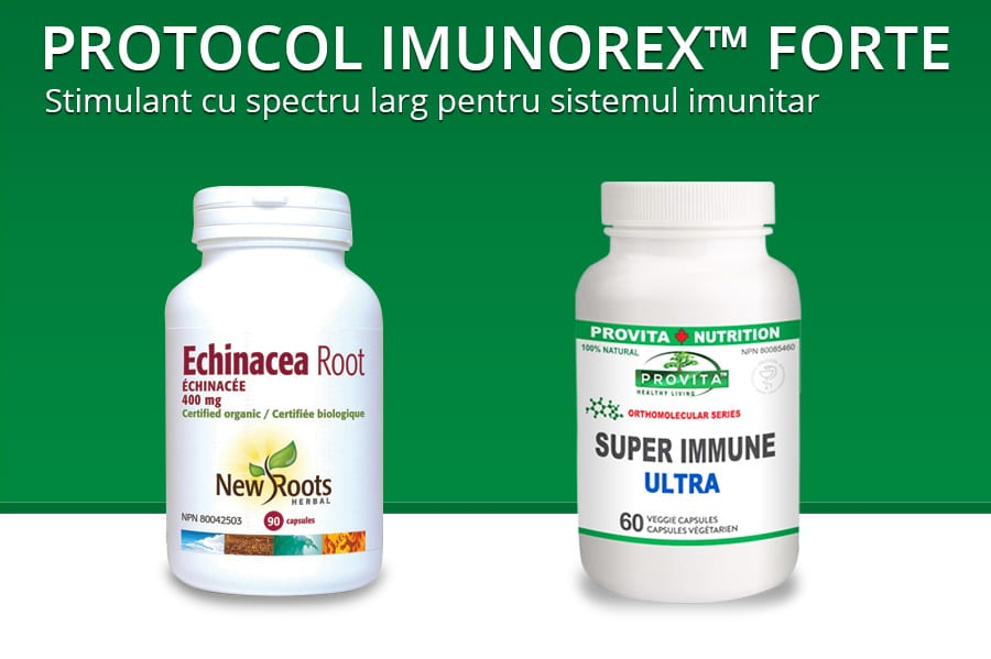 Protocolul Imunorex™ forte de 30 de zile