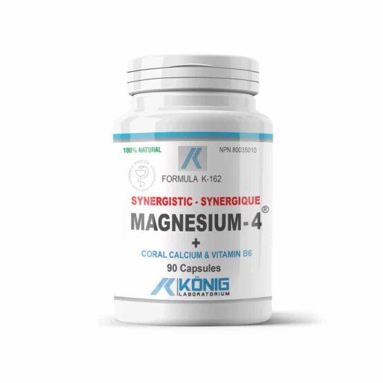 Magnesium-4 - Magneziu sinergistic cu calciu coralier și vitamina B6