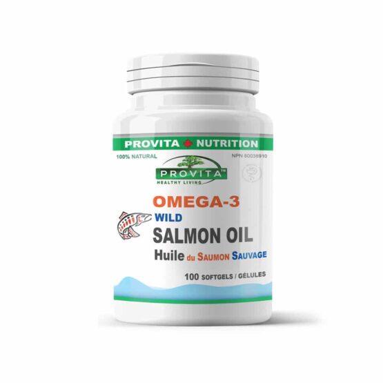 Omega 3 - ulei de somon sălbatic de pacific