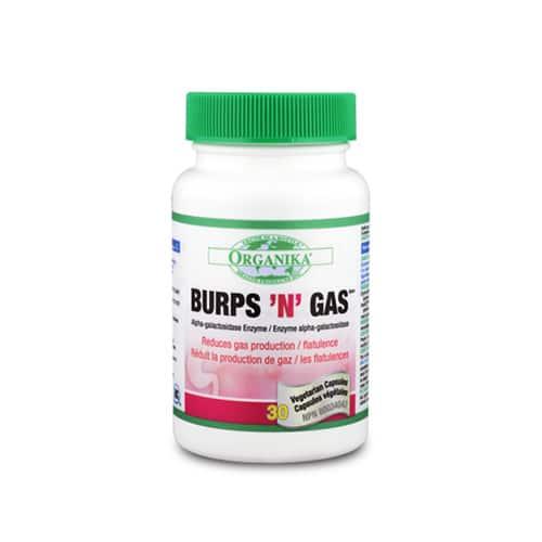 Burps'n'Gas - neutralizeaza gazele din stomac