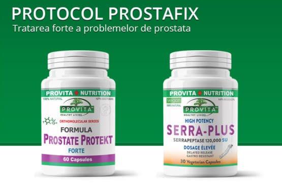 Protocol Prostafix - tratarea forte a problemelor de prostata