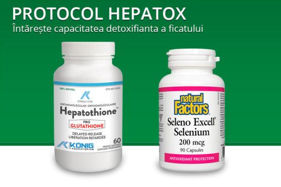 Protocol Hepatox - procedura de detoxificare hepatica