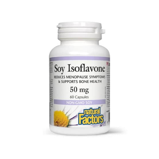 Soy Isoflavone (izoflavone din soia) – 50 mg – 60 capsule