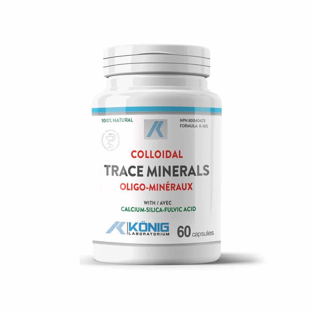 Minerale trasoare coloidale organice cu acid fulvic