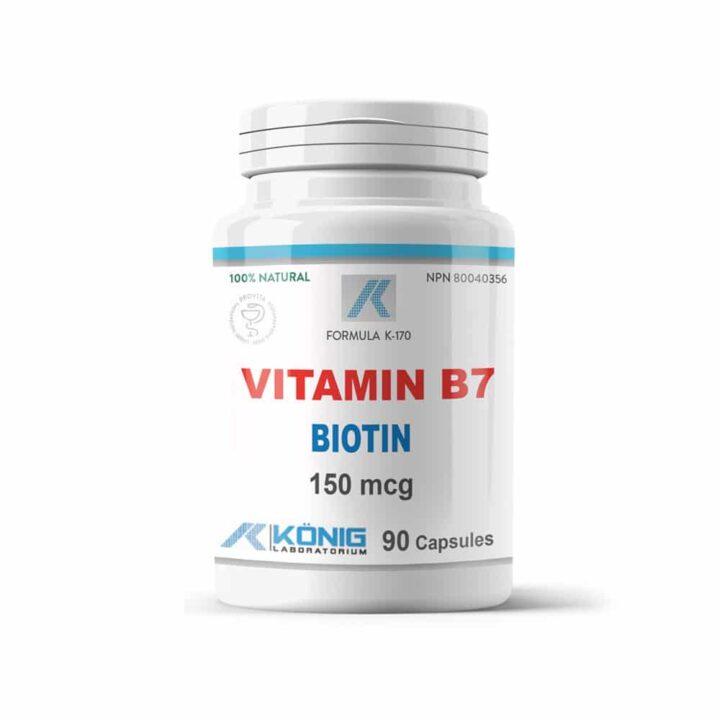 B7 Vitamin biotin (vitamina B7)