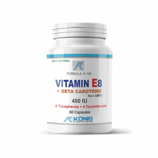 Vitamina E8 forte 400 UI cu beta caroten