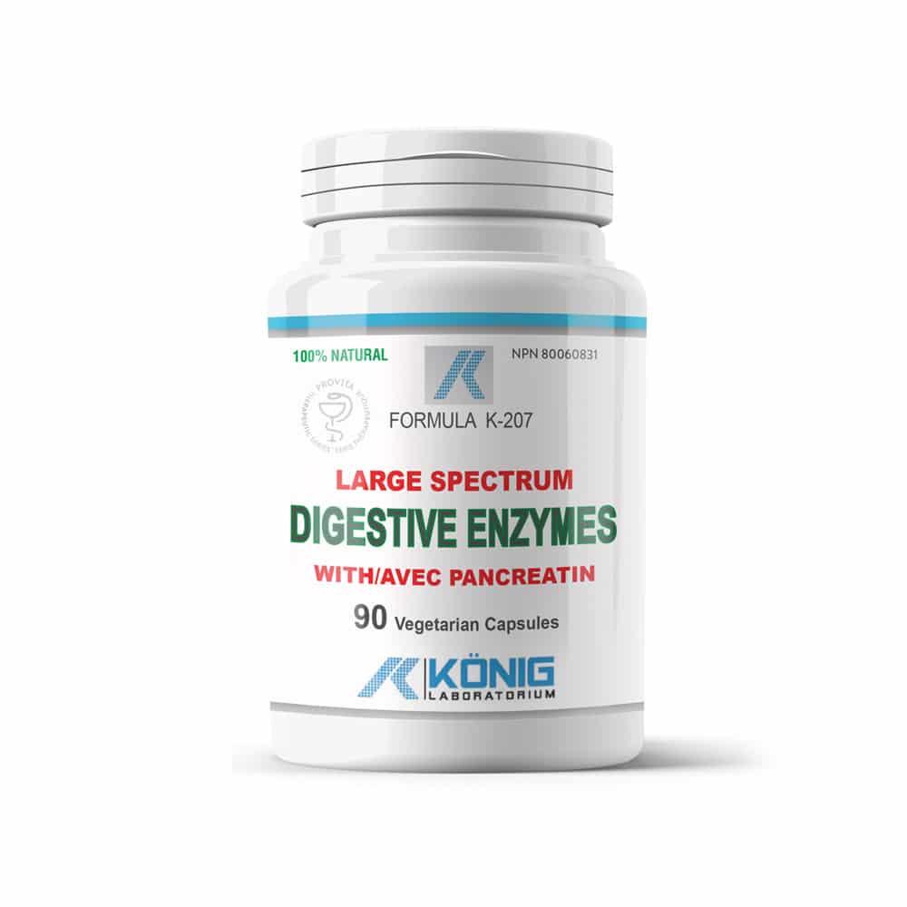 Konig Digestive Enzymes (enzime digestive)