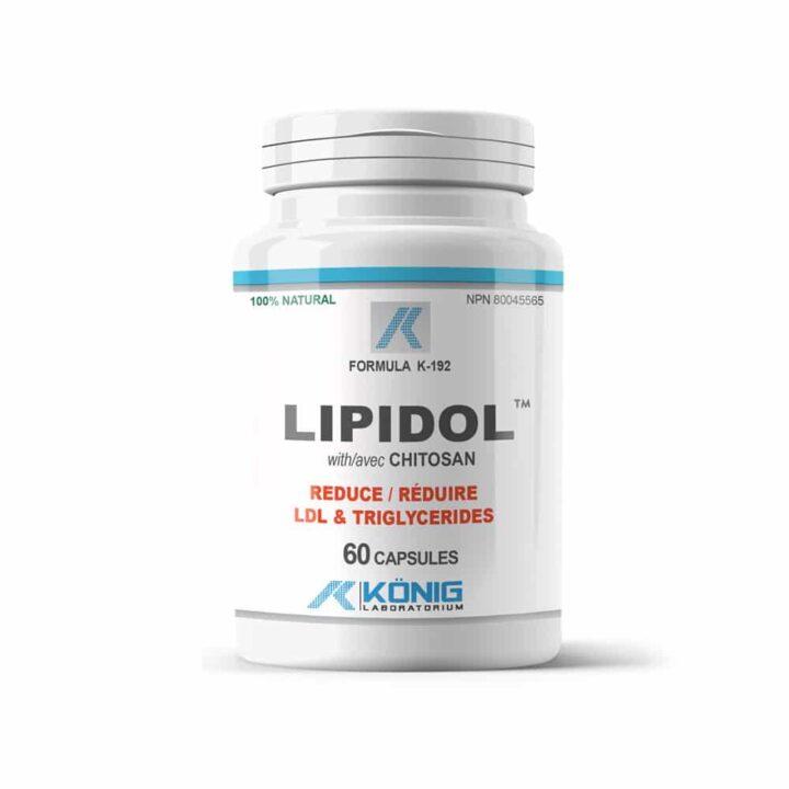 Lipidol with chitosan