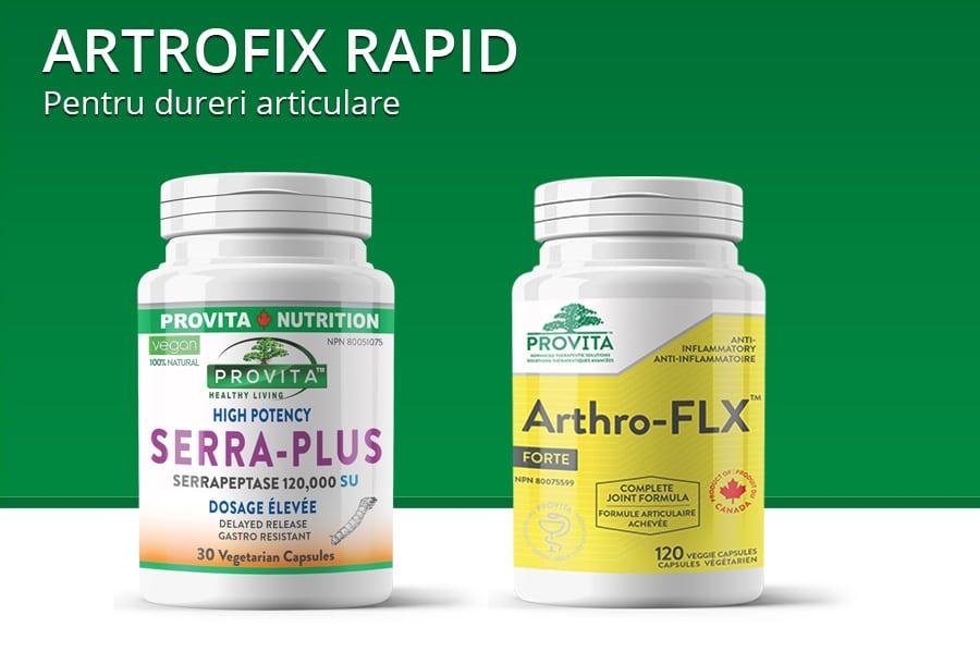 Artrofix rapid - protocol pentru dureri articulare