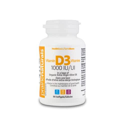 Vitamina D3 Forte – 1000 UI – 90 capsule moi