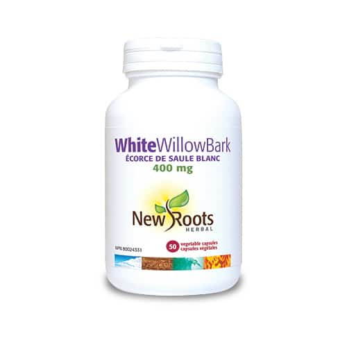White Willow Bark – 400 mg – 50 capsule vegetale