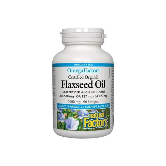Canadian Flaxseed Oil (Ulei de in biologic)