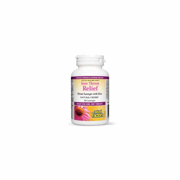Sore Throat Relief - Zinc Masticabil