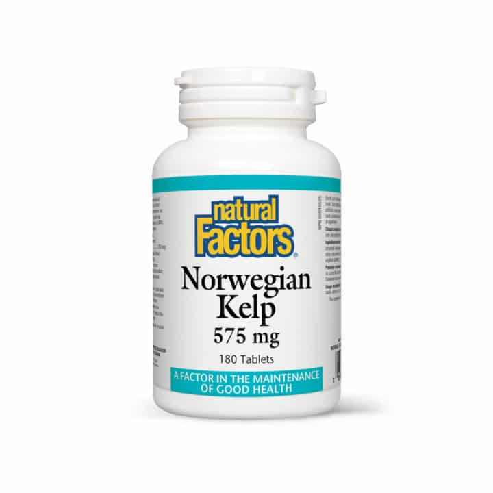 Norwegian Kelp – Kelp Norvegian – 575 mg – 180 tablete