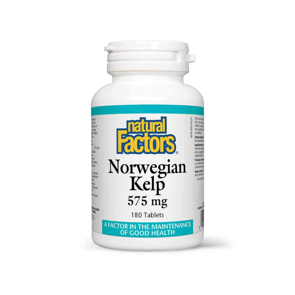 Norwegian Kelp – Kelp Norvegian – 575 mg – 180 tablete