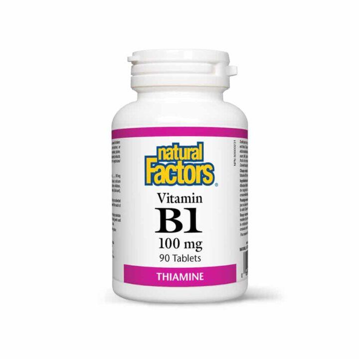 VITAMINA B1 (TIAMINA) - Vitamina esentiala pentru organism