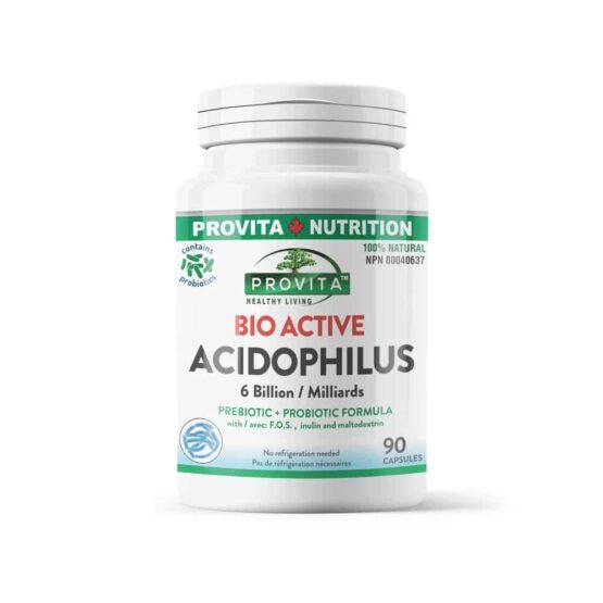 Bio-active acidophilus - 90 capsule - reface flora bacteriană